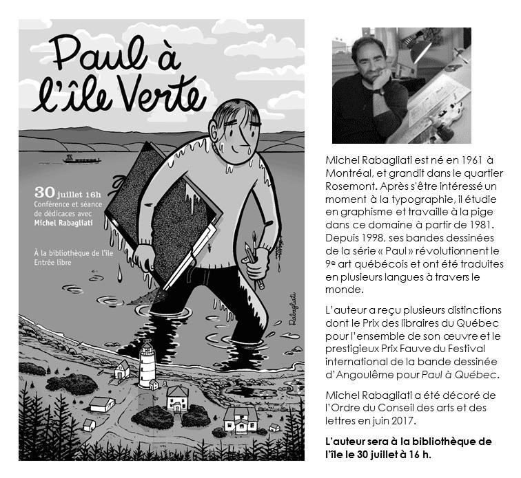Paul à l'Île-Verte